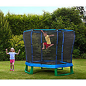 Plum 7ft Junior Jumper Trampoline, Blue