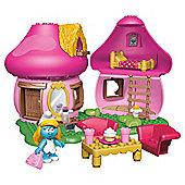 Mega Bloks The Smurfs Smurfettes House