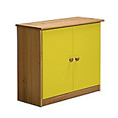 Verona Mid-Sleeper Cupboard Colour Antique and Lime