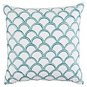 Sea Scales Cushion