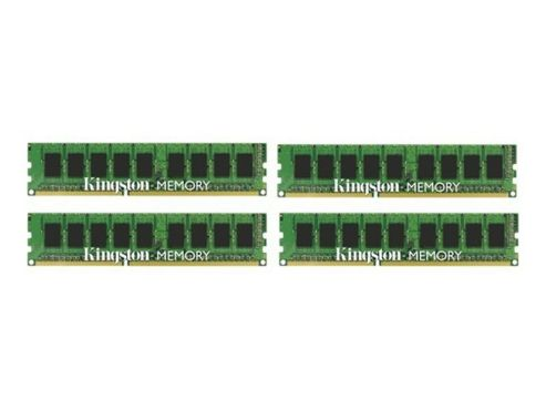 Kingston 32GB (4x8GB) Memory Kit 1600MHz DIMM 240-pin DDR3 Unbuffered ECC