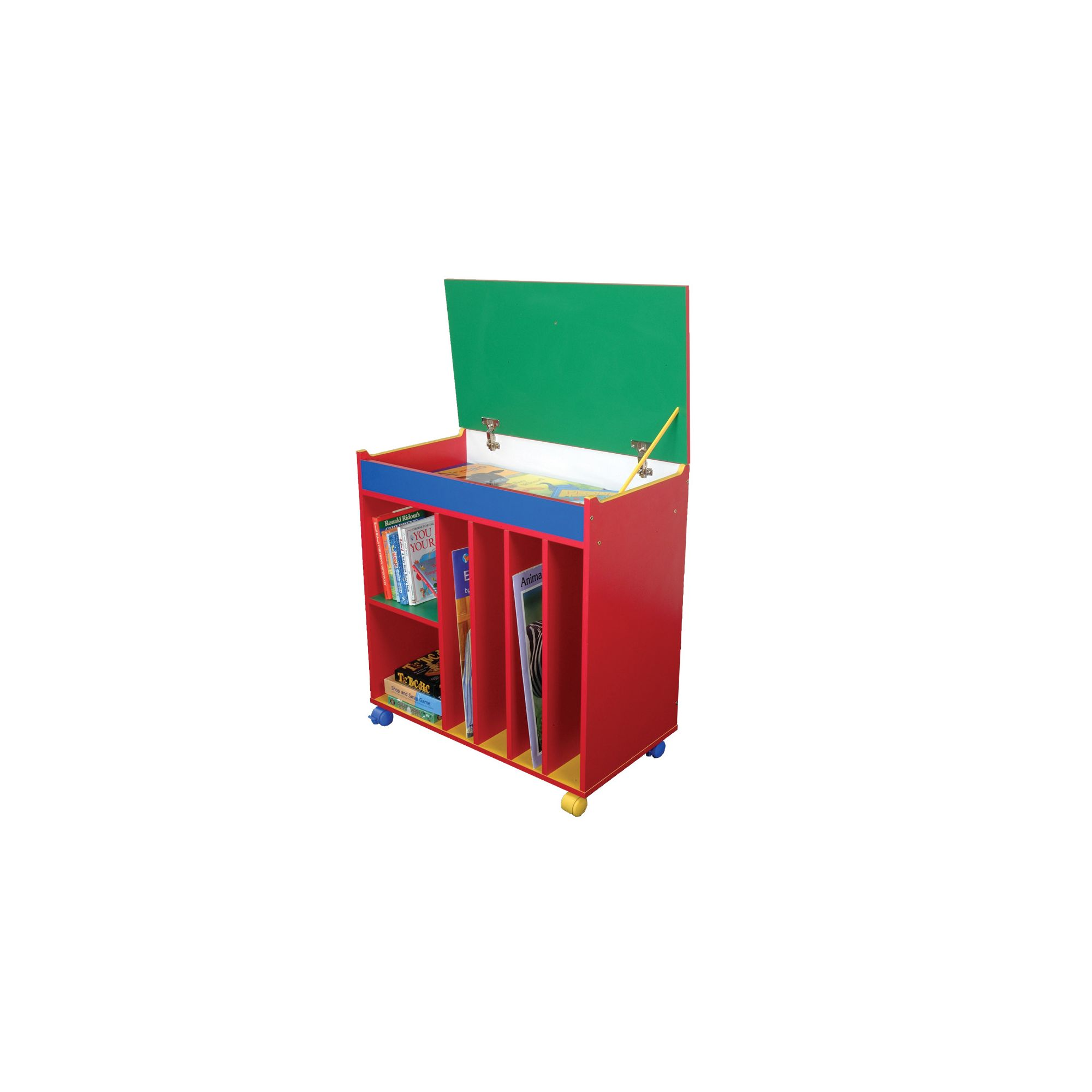 Liberty House Toys Primary Coloured Mobile Storytime Centre at Tesco Direct