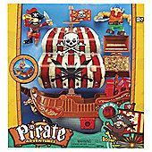 Pirate Ship Red