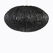 Arturo Alvarez Coral 70cm Single Lamp Ceiling Pendant - Black - White