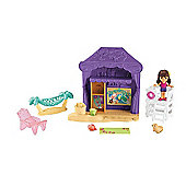 Fisher-Price Dora & Friends Playa Verde Cabana Playset