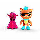 Octonauts Figure & Creature Pack Kwazii & the Vampire Squid