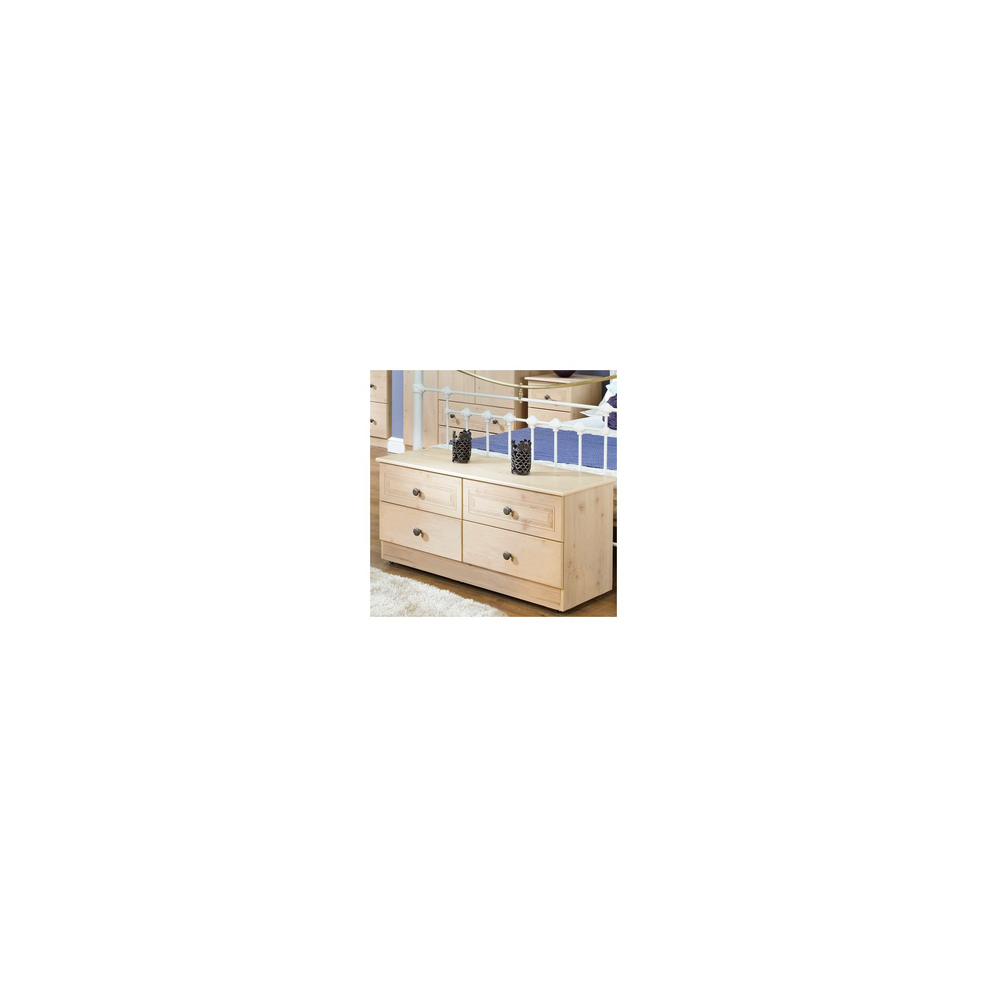 Welcome Furniture Florida 4 Drawer Chest at Tesco Direct
