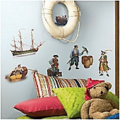 Wall Stickers - Real Pirates