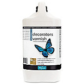 Polyvine Decorators Varnish - Dead Flat - 4 Litre