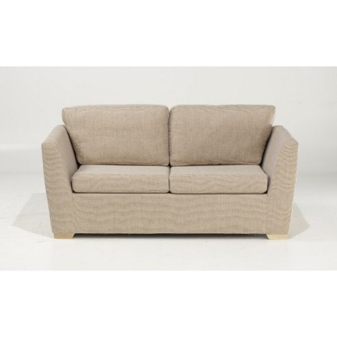 Buy oxford sofabed oatmeal weave from our sofa beds for Sofa bed tesco
