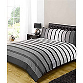 Rapport Art Soho Double Quilt Set Black