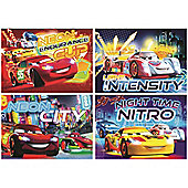 Disney Cars Neon Jigsaw Puzzle (50 Pieces)