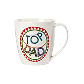 Linea By Mary Fellows Top Dad Mug In White