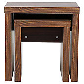Tribeca Nest Set Of 2 Tables, Walnut