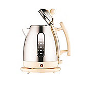 Dualit 72402 1.5 Litre Cordless Jug Kettle - Stainless Steel with Cream Trim