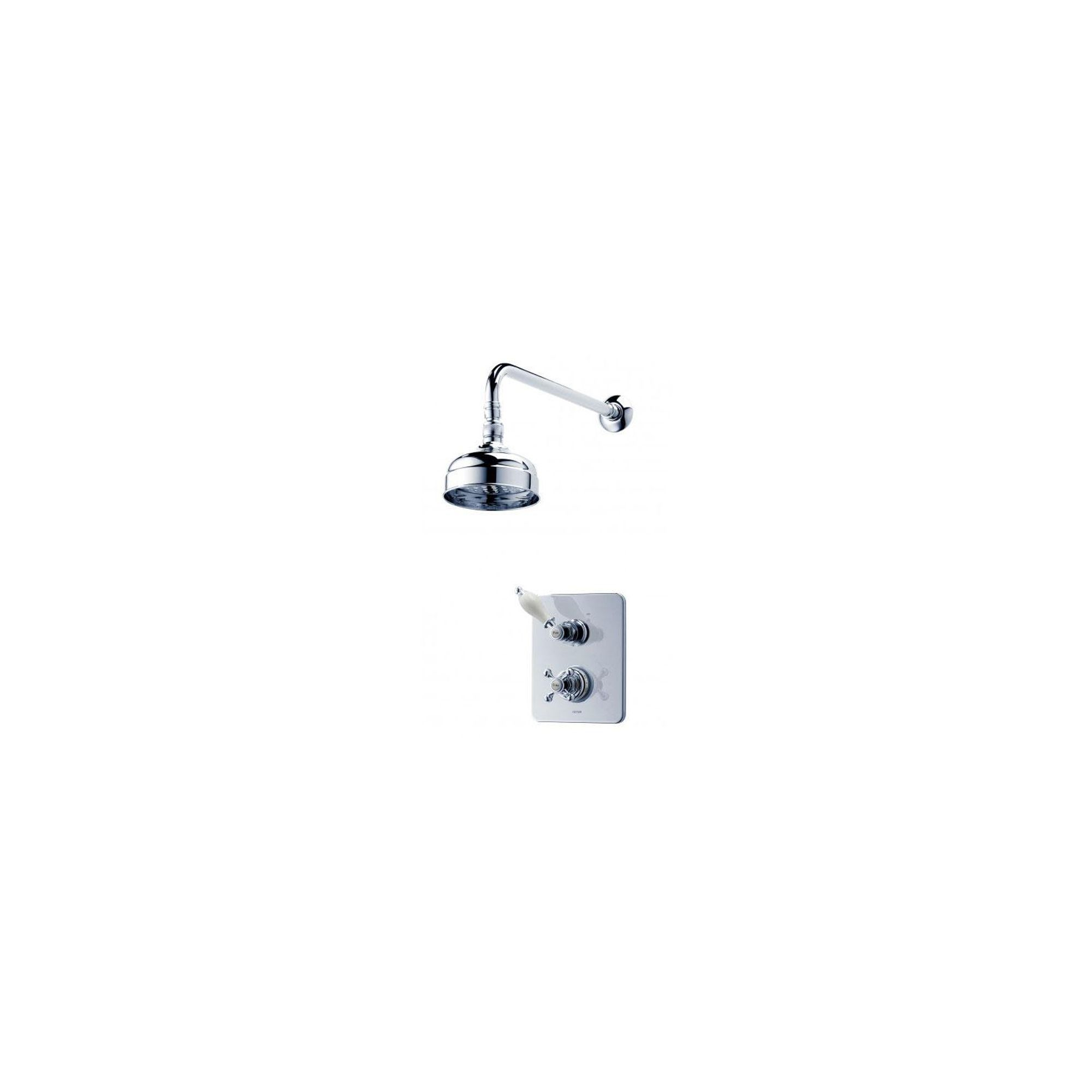 Triton Avon Thermostatic Dual Control Mixer Chrome at Tesco Direct