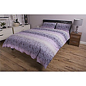 Deyongs 1846 200 Thread Count 100% Cotton Printed Bedlinen Lace Ombre Single