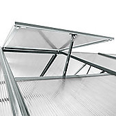 Nison EaZi-Click Greenhouse Roof Vent Kit in Silver