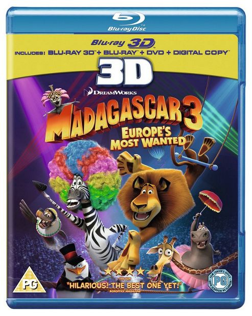 Madagascar 3: Most Wanted 3D