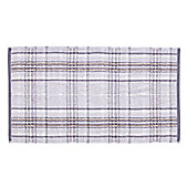 Catherine Lansfield Heritage Check Towel - Grey