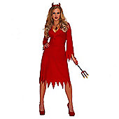 Red Hot Devil - Adult Costume Size: 18-20