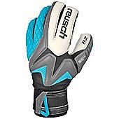 Reusch Waorani Pro A2 Ortho-Tec Goalkeeper Goalie Glove Grey/ Blue - Grey