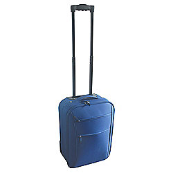 Buy Tesco 2 Wheel Suitcase Navy Small From Our Hand
