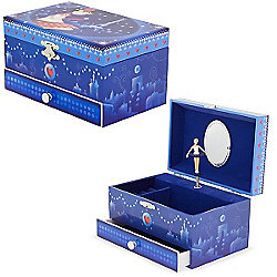 Girls Musical Jewellery Box - Paris in Winter