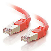 3m Shielded Cat5e Moulded Patch Cable Red: 83792