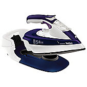 Tefal Freemove FV9965 Cordless Steam Iron Purple & White