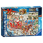 Ravensburger Christmas Puzzle 1000 Piece 2014 Edition