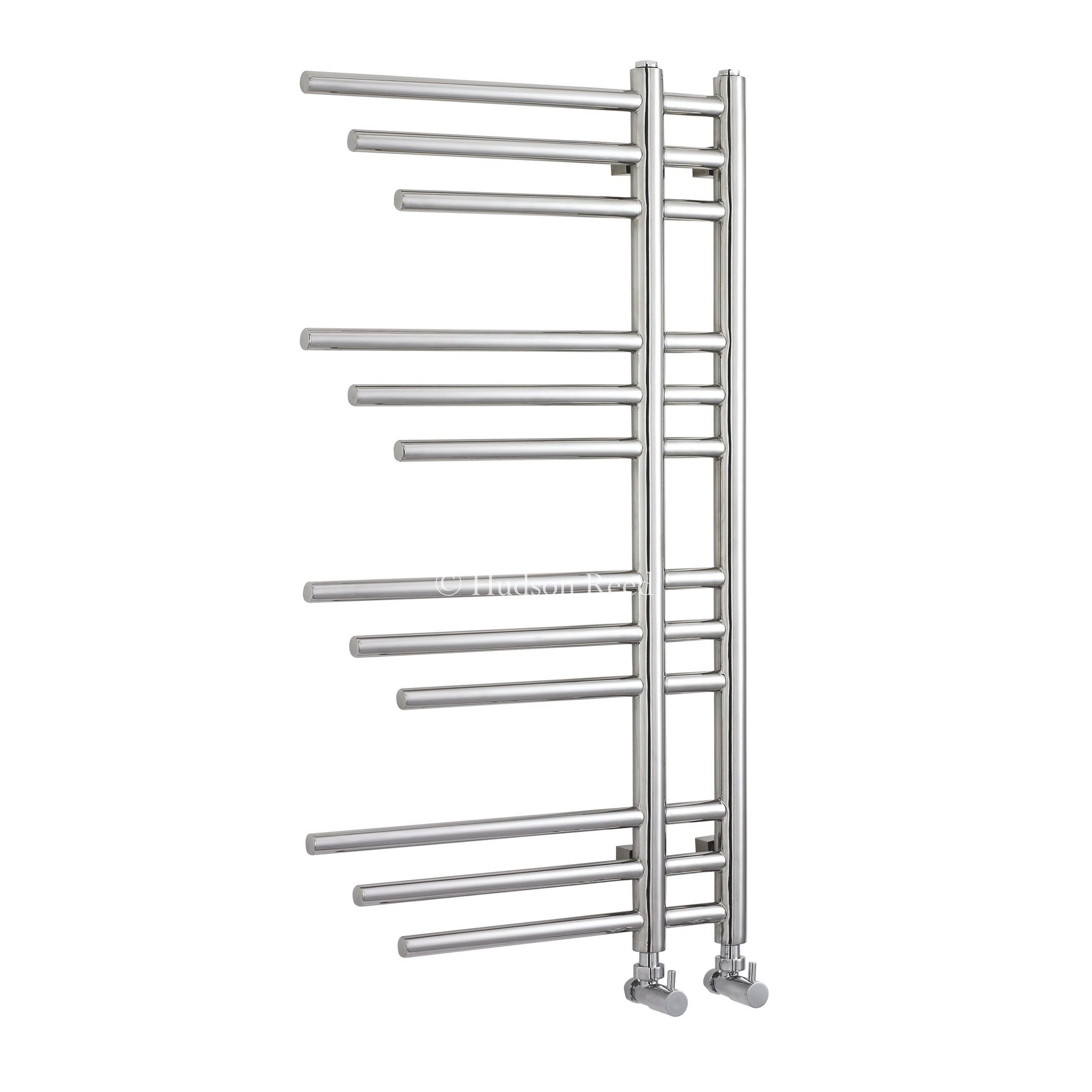 Hudson Reed Finesse Radiator in Stainless - 95 cm x 50 cm at Tesco Direct