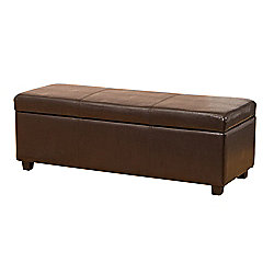 Sofa Collection Avignon Storage Footstool - Brown