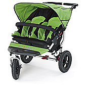 Out n About Nipper 360 Double Pushchair, Mojito Green