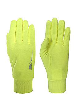 Trespass Glo Further Glove - Yellow