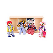 Bigjigs Toys BJ762 Dress Up Bears