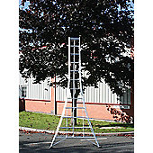 Trade 3.6m (11.98ft) Standard - Garden Hedge Cutting Tripod Ladder