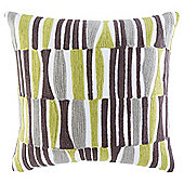 Arai Pattern Cushion, Green