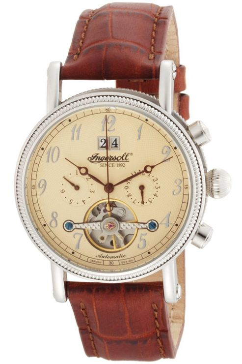 Ingersoll Richmond Automatic Brown Leather Strap Watch IN1800CR