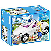 Playmobil Convertible Car With Woman
