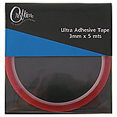 3mm X 5m Ultra Adhesive Tape 6 Rolls