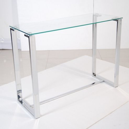 Solway Furniture Crystal Sofa Table