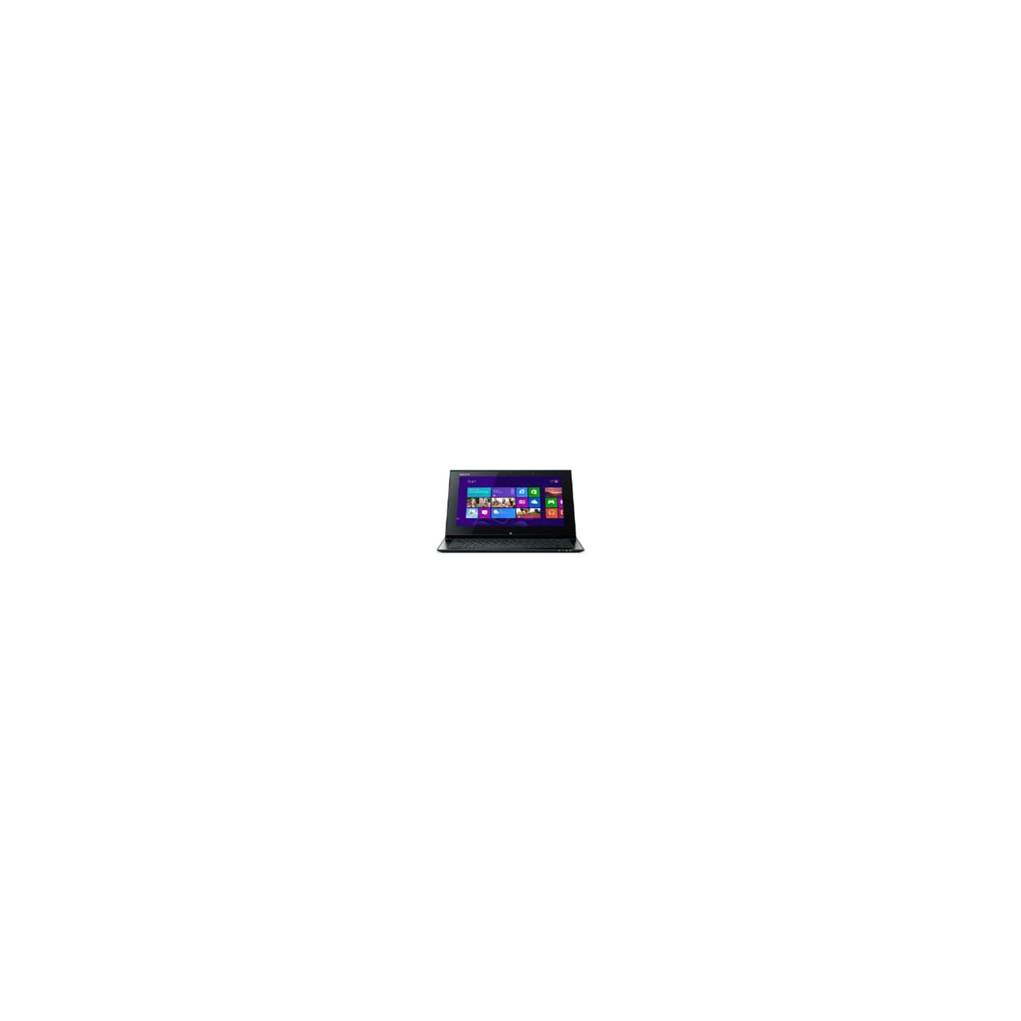 Sony Vaio Duo SVD1121Z9E (11.6 inch) Notebook Core i7 (3517U) 1.9GHz 8GB (4GB + 4GB) 256GB SSD WLAN BT Webcam Windows 8 Pro (HD Graphics 4000) at Tesco Direct