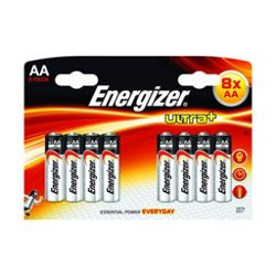 Energizer High Quality Ultra+D Alkaline Battery 4 Pack