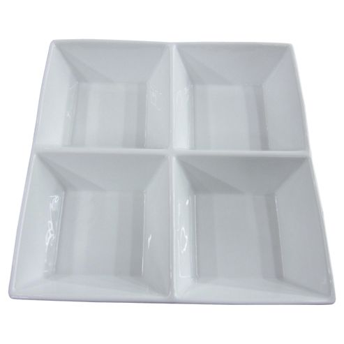 Tesco Porcelain 4 Dip Dish