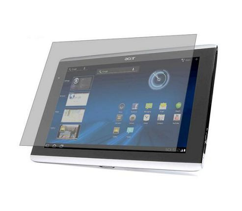 iTALKonline S-Protect LCD Screen Protector and Micro Fibre Cleaning Cloth - For Asus Iconia A500