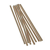 Balsawood 3.2 x 9.6 x 450 mm Bulk Pack 10