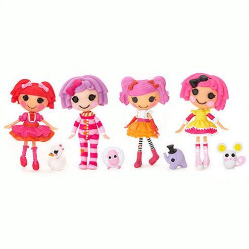 Mini Lalaloopsy Dolls 4 Pack - Set 15