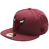 New Era Cap Co Colden Fitted Cap - Chicago Bulls Size: 7 1/2 inch