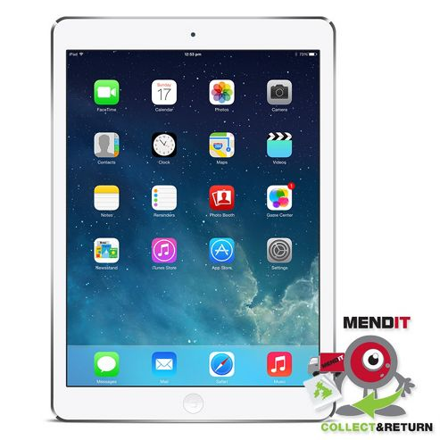 IPad Air 16GB Wi-Fi Silver Plus 2nd Year Extended Warranty